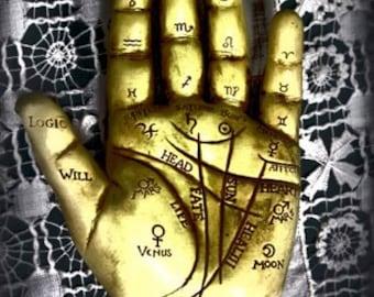 Palm Reader - Fortune Teller - Fine Art Photography - Psychic - Magic - Tarot
