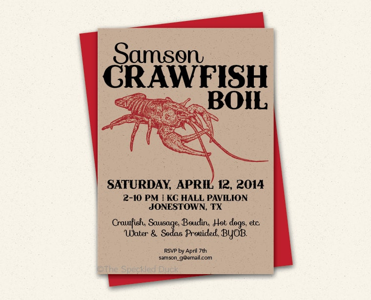 essay on crawfish To develop student interest in this module, have students describe crawfish farming by asking what is crawfish farming make a list of the major descriptive terms on the chalkboard.