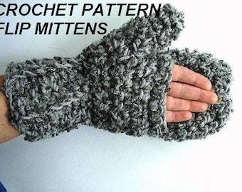 FLIPTOP MITTEN CROCHET PATTERN ? Free Crochet Patterns