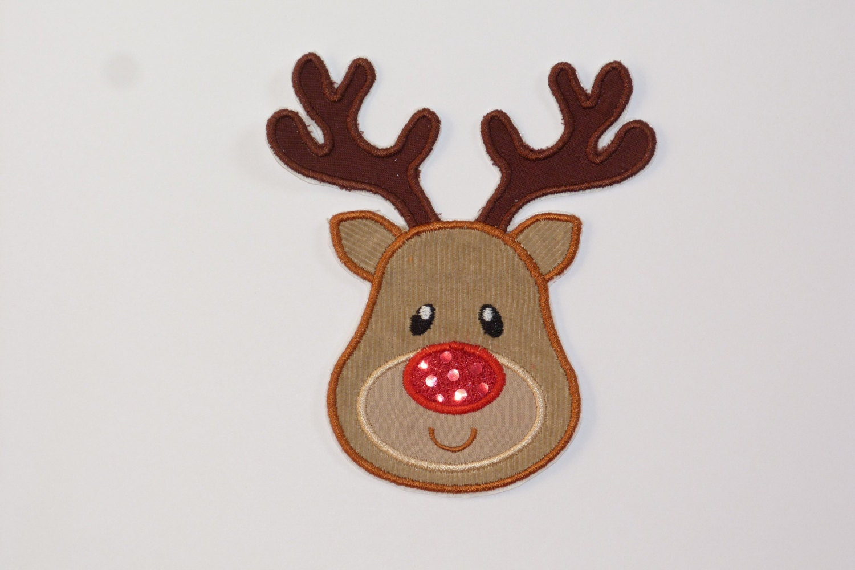 Reindeer Face Clip Art Christmas reindeer hat