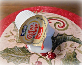 Fake Spilled Creamer of Milk Coffee Mate Fun Prop Gag