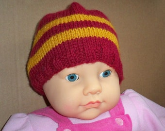 Child's Hat in Gryffindor Colors