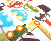 Organic - Fidget - Carport Edition - A Montessori and Waldorf Inspired Ribbon Baby Sensory Toy