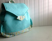 Backpack Bag - CUSTOM - Choose from fabric selection