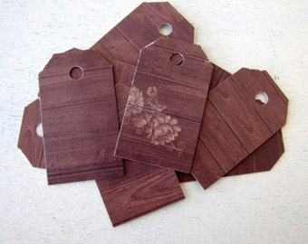 Oak Wedding Favor Tags - Wish Tree Tags - Favor Tags - Escort Cards - Place Cards - Thank You Gift Tags