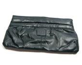 Vintage Dark Green Clutch Non Leather Handbags Green Clutch Handbags Dark Green Clutch Bag Dark Green Handbags Faux Leather Clutch Bag