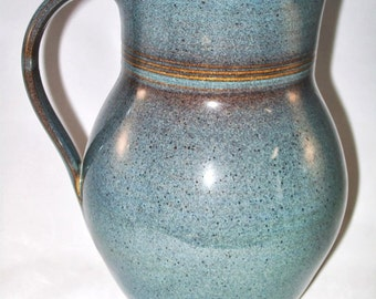 Twilight Pitcher- stoneware,handmade pitcher, handthrown