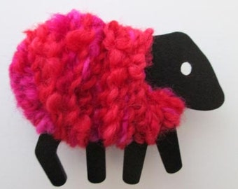 LizzyC Sheep Fridge Magnet - Bella