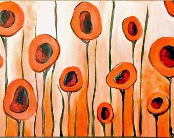 An Orange Dream III by Kristen Dougherty