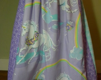 Vintage Unicorn Long Skirt