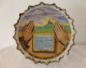 Wallplate THE LORDS PRAYER