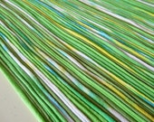 Recycled T shirt Yarn Strips-Mixed Greens - Rt846