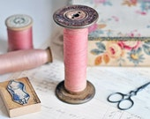 vintage french spool from a paris passementerie atelier