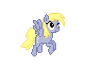 Derpy Hooves (My Little Pony: Friendship Is Magic) - Cross Stitch Pattern