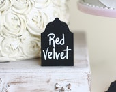 Mini Chalkboard Signs Buffet Makers Candy Bar Signs Wedding Signs  (Item Number 140307) NEW ITEM - braggingbags