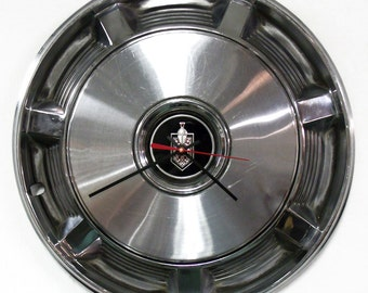 Chevy Monte Carlo Wall Clock - 1973 1974 1975 1976 1977 Chevrolet Hubcap Clock - Classic Car Clock - Man Cave Decor - Automotive Art