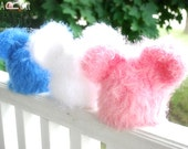 SALE - Fuzzy Bear Beanie - Hat for Boys or Girls - Ready to Ship