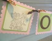 Fairy Enchanted Forest Birthday, Baby Shower, Bridal Shower Banner