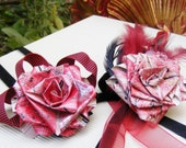Themed bridal flower package : Moulin Rouge!, burlesque