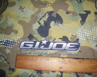 GI Joe FULL Fitted sheet - Reclaimed Bed Linens