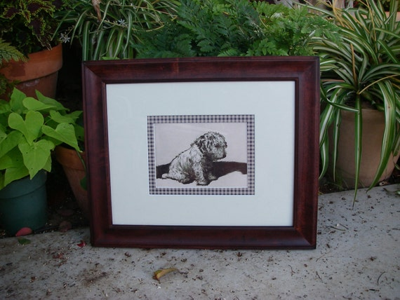 Diana Thorne Dog Print Inconsolable By Sylly123 On Etsy