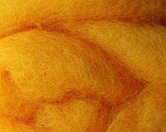2 oz C-1 Needle Felting Wool Marigold
