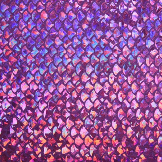 Items similar to purple small fish scale spandex on etsy for Fish scale wallpaper