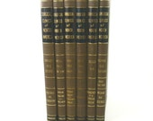 1945 Set of Surgical Clinics of North America Books... 6 Volumes...Procedures, Photos, Case Studies