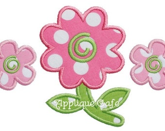 760 Flowers Machine Embroidery Applique Design