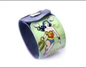 Retro Wonder Woman cuff