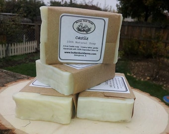 Castile 100% Pure Olive Oil Soap - Gentle - Unscented