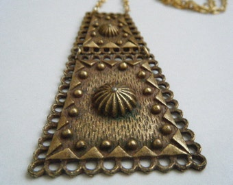 Mod Geometric Necklace