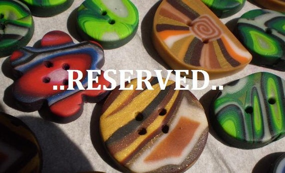 Special and Reserved for Victoria