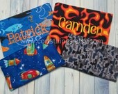 Reusable Large & Small Personalized Snack Bag - Pick Your Fabric