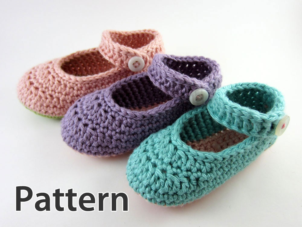 Crochet Patterns For Baby Shoes And Sandals : Crochet Pattern Newborn Booties baby girl crochet crochet