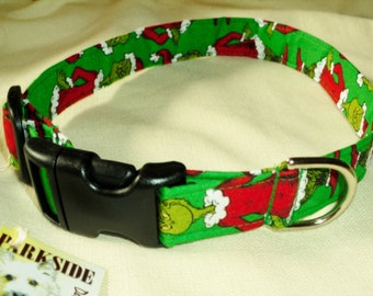 Grinch Collar for Larger Dogs