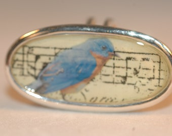 Songbird Resin Statement Ring