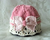 Knitted Baby Hat Knitting Knit Baby Hat Knitted Baby Hats Knitted Bow Hat Knit Bow Baby Hat Cotton Knitted Baby Hat Bow Baby Hat