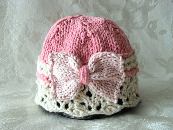 Knitted Baby Hat Knitting Knit Baby Hat Knitted Baby Cloche