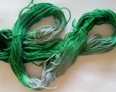 Hand Dyed Cotton Embroidery Thread in Lothlorien