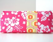 Personalized Cosmetic Makeup Bag - Luau - Made to Order