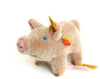 piggy   ...    vintage steiff pig   ...   oink