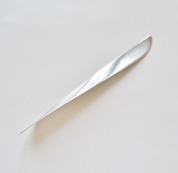 metal letter opener modern italy italian office With modern letter opener