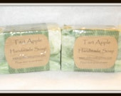 Tart Apple All Natural Handmade Soap --- Delicious Juicy Scent!