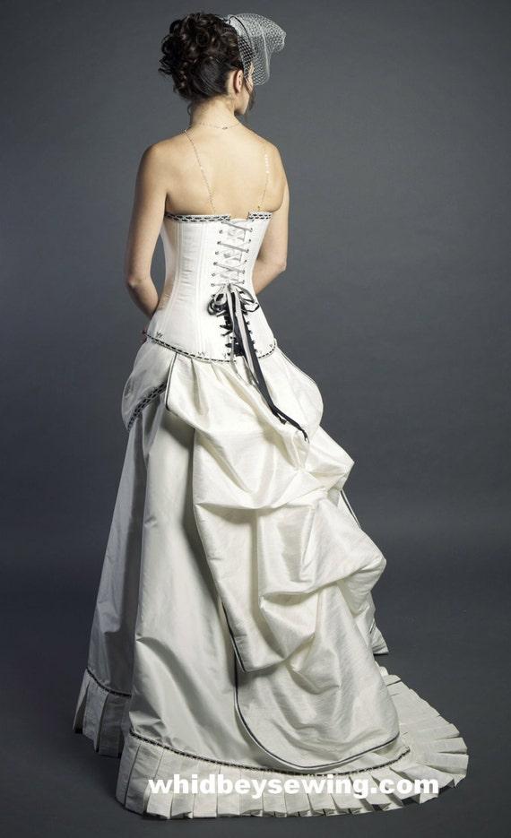 Steampunk Wedding Dress custom order only