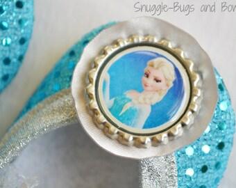Princess Elsa (Frozen) Play Shoes (Toddler Sizes 6 - 12) MEASURE your child's foot PLEASE