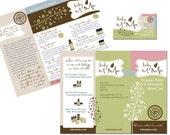 Logo, Business Card and Brochure Design
