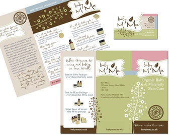 Logo, Business Card and Brochure Design