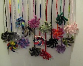 Yarn Spider Cat Toy