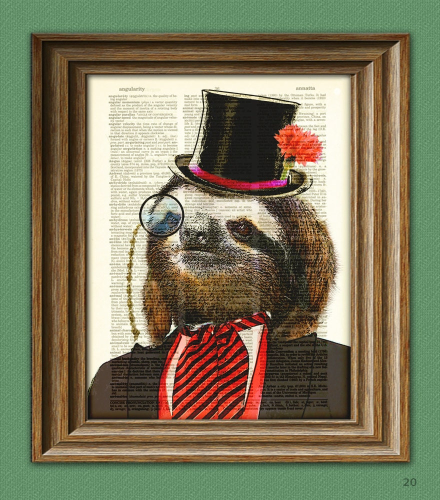 Dandy Sloth With Top Hat And Monocle In Suit Illustration